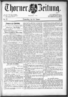 Thorner Zeitung 1892. Nr. 17