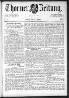 Thorner Zeitung 1892. Nr. 18