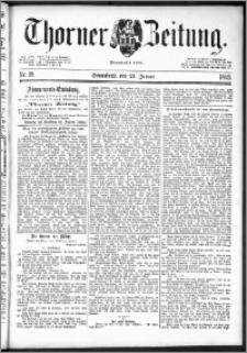 Thorner Zeitung 1892. Nr. 19