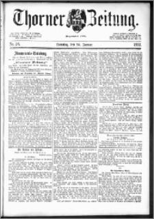 Thorner Zeitung 1892. Nr. 20