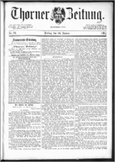 Thorner Zeitung 1892. Nr. 24