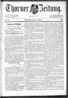 Thorner Zeitung 1892. Nr. 25