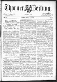 Thorner Zeitung 1892. Nr. 26 + Beilage
