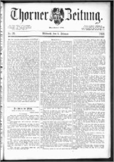 Thorner Zeitung 1892. Nr. 28