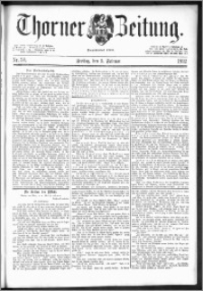 Thorner Zeitung 1892. Nr. 30