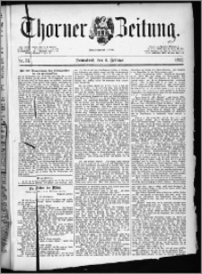 Thorner Zeitung 1892. Nr. 31