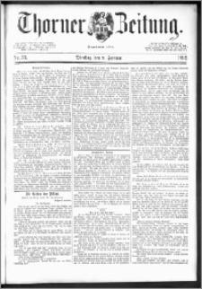 Thorner Zeitung 1892. Nr. 33 + Extra-Beilage