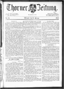 Thorner Zeitung 1892. Nr. 34