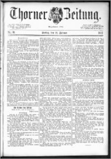 Thorner Zeitung 1892. Nr. 36