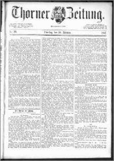 Thorner Zeitung 1892. Nr. 39