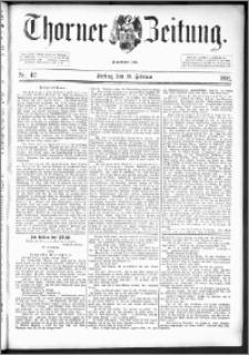 Thorner Zeitung 1892. Nr. 42