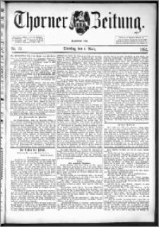 Thorner Zeitung 1892. Nr. 51