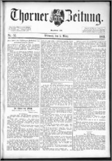 Thorner Zeitung 1892. Nr. 52