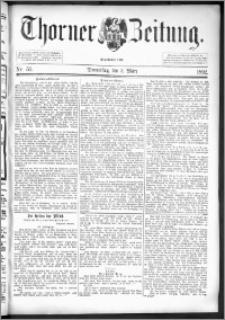 Thorner Zeitung 1892. Nr. 53