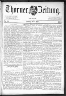 Thorner Zeitung 1892. Nr. 54