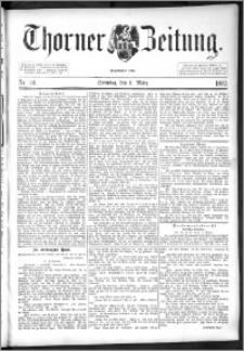Thorner Zeitung 1892. Nr. 56
