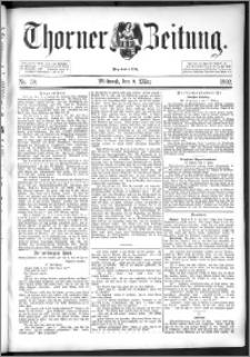 Thorner Zeitung 1892. Nr. 58