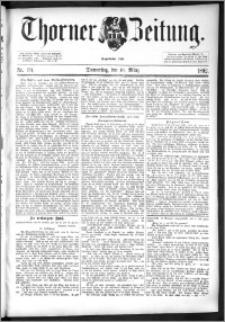 Thorner Zeitung 1892. Nr. 59