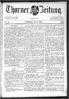 Thorner Zeitung 1892. Nr. 61
