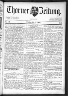 Thorner Zeitung 1892. Nr. 63