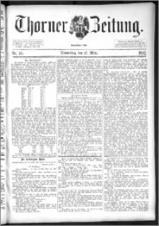 Thorner Zeitung 1892. Nr. 65