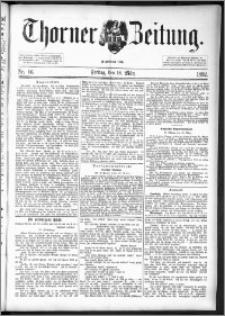 Thorner Zeitung 1892. Nr. 66
