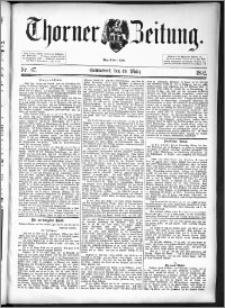 Thorner Zeitung 1892. Nr. 67