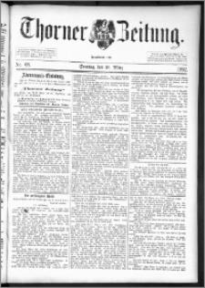 Thorner Zeitung 1892. Nr. 68 + Beilage