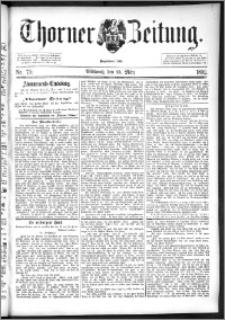 Thorner Zeitung 1892. Nr. 70