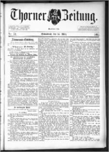 Thorner Zeitung 1892. Nr. 73