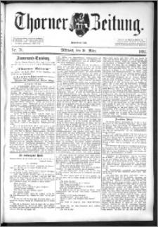 Thorner Zeitung 1892. Nr. 76