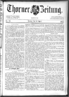Thorner Zeitung 1892. Nr. 90