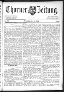 Thorner Zeitung 1892. Nr. 93