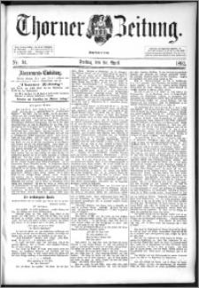 Thorner Zeitung 1892. Nr. 94