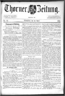 Thorner Zeitung 1892. Nr. 95