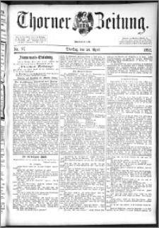 Thorner Zeitung 1892. Nr. 97