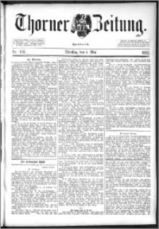 Thorner Zeitung 1892. Nr. 103