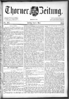 Thorner Zeitung 1892. Nr. 106