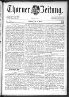 Thorner Zeitung 1892. Nr. 108 + Beilage