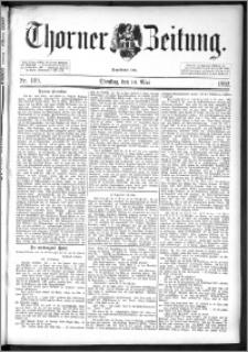 Thorner Zeitung 1892. Nr. 109