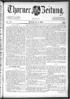 Thorner Zeitung 1892. Nr. 110