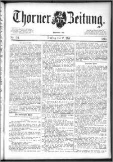 Thorner Zeitung 1892. Nr. 114