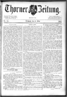 Thorner Zeitung 1892. Nr. 115