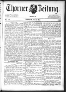 Thorner Zeitung 1892. Nr. 118