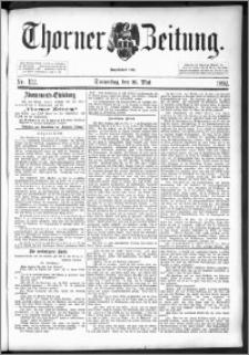 Thorner Zeitung 1892. Nr. 122