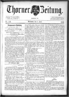 Thorner Zeitung 1892. Nr. 126