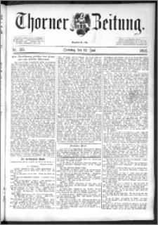 Thorner Zeitung 1892. Nr. 135 + Beilage