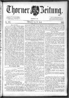 Thorner Zeitung 1892. Nr. 137