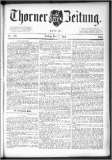 Thorner Zeitung 1892. Nr. 139