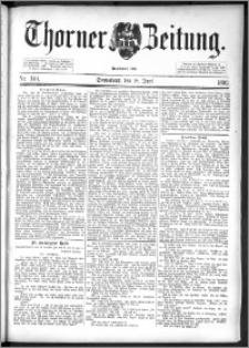 Thorner Zeitung 1892. Nr. 140